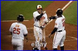 2016 Baltimore Orioles Manny Machado Game Used 3 Run HR Jersey 8/18/2016 MLB COA