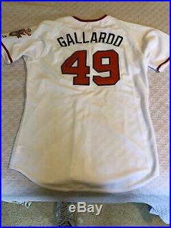 2016 Baltimore Orioles Yovani Gallardo Signed Game Worn Jersey