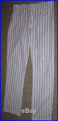 2016 David Wright GAME USED issued 2016 PANTS New York Mets MLB hologram