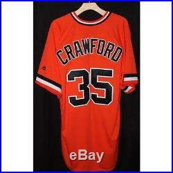2016 San Francisco Giants Brandon Crawford Game-Used Jersey 6/18/2016 MLB COA