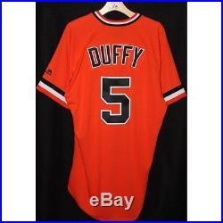 2016 San Francisco Giants Matt Duffy Game-Used HR Jersey 6/18/2016 MLB COA