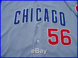 2016 World Series Chicago Cubs Hector Rondon Game Used Worn Jersey NLDS Game 4