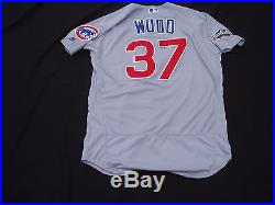 2016 World Series Chicago Cubs Travis Wood Game Used Worn Jersey NLDS Game 4