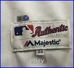 2017 Brad Peacock Houston Astros Game Used Worn 1997 Throwback Jersey Pants Hat