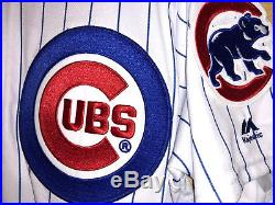 2017 Chicago Cubs Jake Arrieta Home Game Jersey #49 MLB Authentic Team Issued