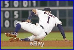 2017 Houston Astros Carlos Correa Game Used Home Run Jersey 5/9/2017 MLB COA