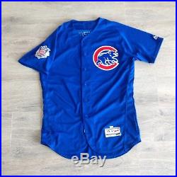 2017 Jose Quintana Game Used Worn Team Issued Auto Jersey Chicago Cubs MLB holo
