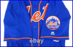 2017 New York Mets Jerry Blevins #39 Game Used Blue Jersey METS6257