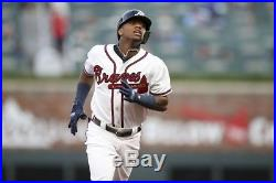2018 Alanta Braves Ronald Acuna Jr Game Used 1st & 2nd Career Home Run Jersey