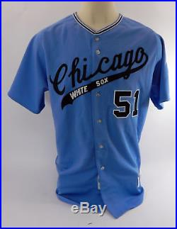 2018 Chicago White Sox Carson Fulmer #51 Game Used Blue Jersey & Pants