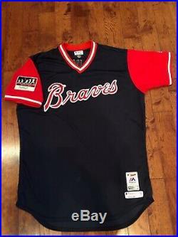 2018 Game Worn Atlanta Braves Players Weekend Jersey Jonny Venters