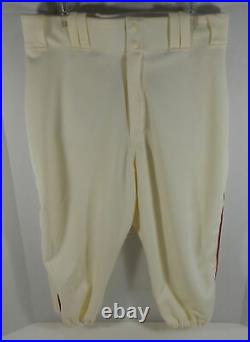 2018 Pittsburgh Pirates Crawfords Steven Brault #43 Game Used Cream Jersey Pant
