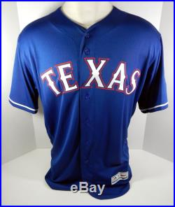 2018 Texas Rangers Joey Gallo #13 Game Issued Blue Jersey RNGRS104