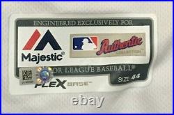 2019 La STELLA size 44 #9 LOS ANGELES ANGELS DUCKS JERSEY ISSUED MLB HOLOGRAM