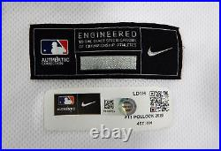 2020 Los Angeles Dodgers A. J. Pollock #11 Game Issued Pos Used White Jersey ASG