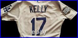 2020 Los Angeles Dodgers Joe Kelly Game Used Worn WORLD SERIES Jersey