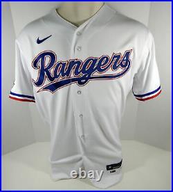 2020 Texas Rangers Shin-Soo Choo #17 Game Issued White Jersey I Season P 495