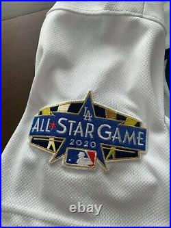 2020 WORLD SERIES DODGERS WALKER BUEHLER All Star Jersey GAME USED MLB COA