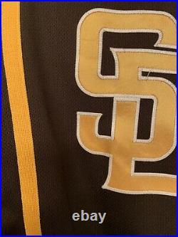 2021 san diego padres jersey/ game used worn drew pomeranz