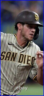 2021 san diego padres jersey / game used worn wil myers