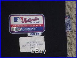 3 PACK JERSEYS SIZE 50 2015 Seattle Mariners game used jersey MLB HOLOGRAM