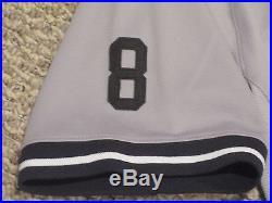 AROD Alex Rodriguez 2015 Yankees Game Jersey Road Berra patch Steiner MLB Holo