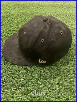 Aaron Judge New York Yankees Game Used Worn Hat 2019 Military Day Hat MLB Auth