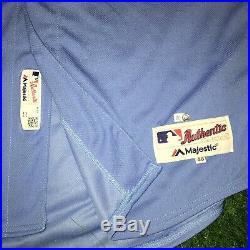 Aaron Nola Philadelphia Phillies Game Used Worn Jersey 2019 7 IP 0 Er 10ks MLB