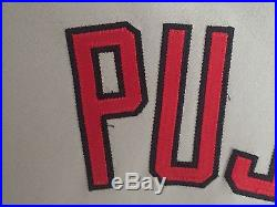 Albert Pujols 2008, St. Louis Cardinals, Game Worn jersey