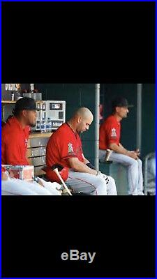 Albert Pujols Game Used Jersey Angels MLB Hologram Memorial Day HOF 2B RBI Cards