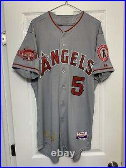 Albert Pujols Los Angeles Angels 2015 MLB All Star Game Authentic Jersey Size 44