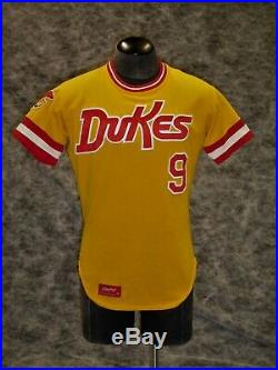 Albuquerque Dukes vintage 1970's early 80's Game Used / Worn Jersey Rare Style