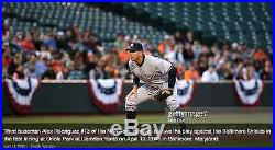 Alex Rodriguez Game Used Jersey Worn 4/13/15 1st Start Since 4/13/13 Yankees