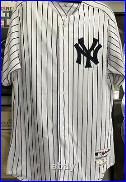Alex Rodriguez Game Used Yankees Jersey & Pants Pinstripe #13 UniformCOA Steiner