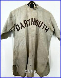 Antique Baseball 1900-1905 Wright & Ditson Dartmouth College Game Used Jersey