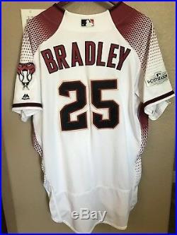 Archie Bradley Game Used Jersey Arizona Diamondbacks 2017 Post Season Patch