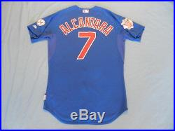 Arismendy Alcantara 2015 Chicago Cubs game used jersey MLB authenticated