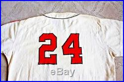 Arnie Portocarrero 1959 Baltimore Orioles game used jersey flannel size 50