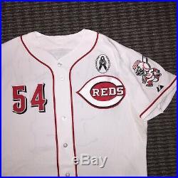 Aroldis Chapman Cincinnati Reds Game Used Worn Jersey 2013 Yankees MLB Auth