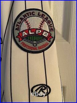 Atlantic City Surf Game Worn Used Minor League Jersey