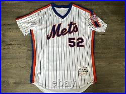 Authentic Game Worn New York Mets Yoenis Cespedes TBC 1986 Jersey Photo Matched