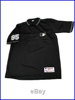 Authentic MLB Umpire Jersey Uniform Game Used #95 Major League Baseball