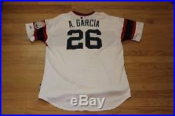 Avisail Garcia White Sox 2014 game used worn jersey