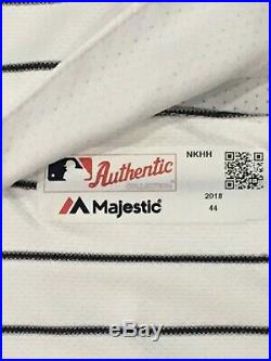 BOONE #17 size 44 2018 Yankees Game Jersey Issued HOME POST SEASON STEINER MLB
