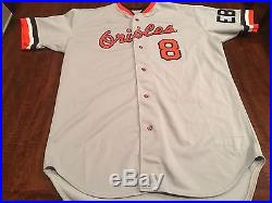 Baltimore Orioles 1988 Game Worn Used Cal Ripken Jr. Jersey MEARS 10