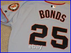 Barry Bonds Game Worn Full Uniform San Francisco Giants
