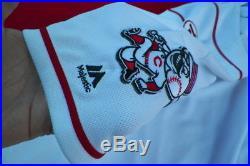 Billy Hamilton Game Used 2016 Cincinnati Reds Jersey Mlb Auth Pete Rose Hof #14