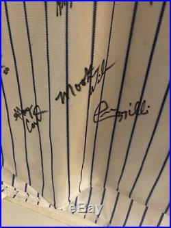 Binghamton Mets GAME used WORN jersey NY AA minor league SIGNED Gary Carter + 29