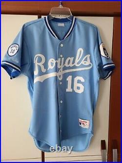 Bo Jackson 1987 Kansas City Royals Rookie Rawlings Authentic Jersey Size 40