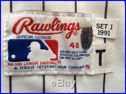 Bo Jackson 1991 Game Worn/Used & Signed Chicago White Sox Baseball Jersey